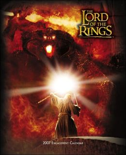 2007 Lord of the Rings Weekly Engagement Calendar