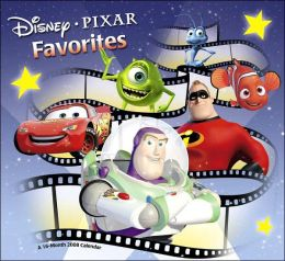 2008 Disney / Pixar Favorites Wall Calendar