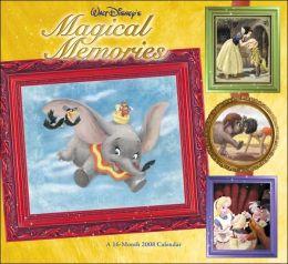 2008 Disney's Magical Memories Wall Calendar