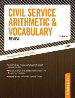 Civil Service Arithmetic & Vocabulary Review