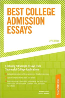Best College Admission Essays