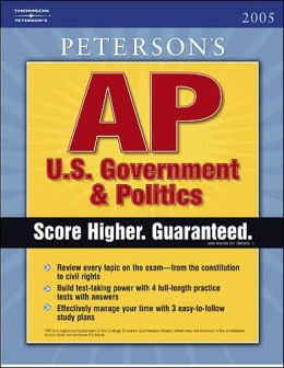 Peterson's AP U. S. Government and Politics