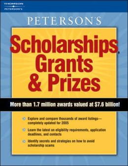 Scholarships, Grants and Prizes 2006