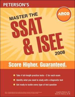 Master the SSAT and ISEE 2008