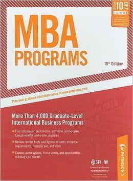 MBA Programs: More Than 4,000 Graduate-Level International Business Programs