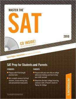 Master The SAT - 2010: CD-ROM INSIDE; SAT Prep for Students and Parents