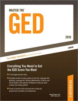 Master The GED - 2010: Everything You Need to Get the GED Score You Want