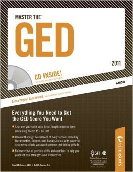 Master the GED 2011 (w/CD)