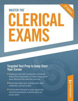 Peterson's Master the Clerical Exams Practice Test 4