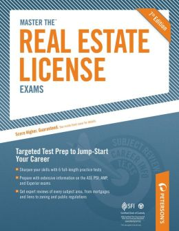 Peterson's Master the Real Estate License Exams, Practice Test 3