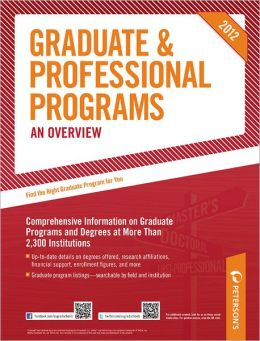 Graduate & Professional Programs: An Overview 2012 (Grad 1)