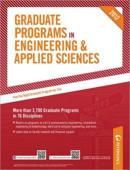 Graduate Programs in Engineering & Applied Sciences 2012 (Grad 5)
