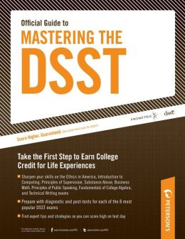Peterson's Official Guide to Mastering the DSST--Fundamentals of College Algebra