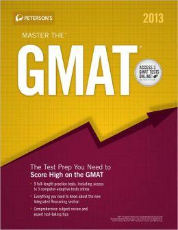 Master the GMAT 2013