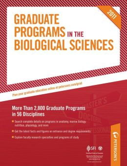 Peterson's Graduate Programs in Computational, Systems, & Translational Biology; Ecology, Environmental Biology, & Evolutionary Biology; and Entomology: Sections 7-9 of 19