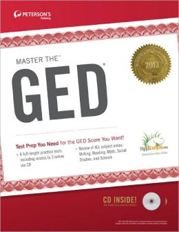 Master the GED 2013 (w/CD)