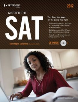 Peterson's Master the SAT Practice Test 5 (of 6)