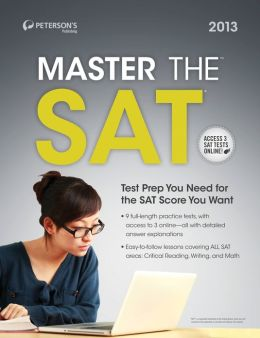 Master the SAT: Practice Test 5: Prac Tes 5 of 6