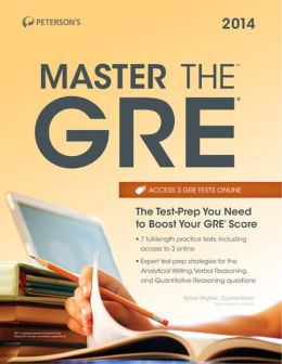 Master the GRE 2014