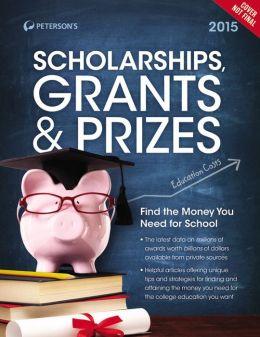 Scholarships, Grants & Prizes 2015