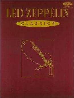Led Zeppelin -- Classics: Authentic Guitar TAB