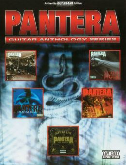 Pantera -- Guitar Anthology: Authentic Guitar TAB