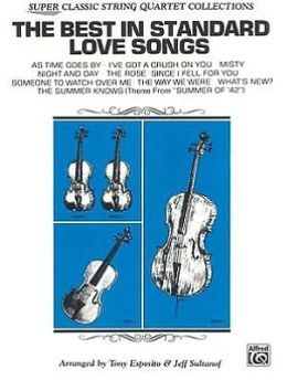 The Best in Standard Love Songs: Full Score & Parts, Full Score & Parts