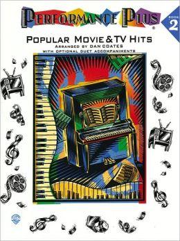 Performance Plus, Bk 2: Dan Coates -- Popular Movie & TV Hits