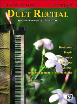 The Young Pianist's Library, Bk 6A: Duet Recital Book