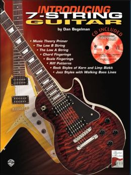 Introducing 7-String Guitar: Guitar TAB, Book & CD