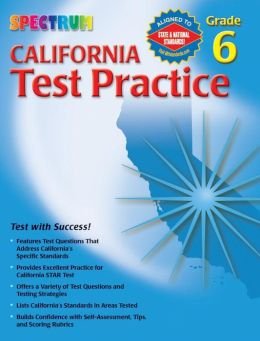 Spectrum California Test Practice Grade 6