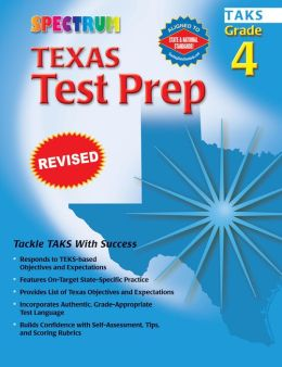 Spectrum Texas Test Prep: Grade 4 (TAKS)