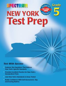 Spectrum New York Test Prep, Grade 5