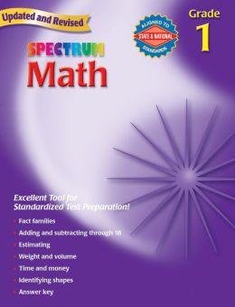 Spectrum Math, Grade 1