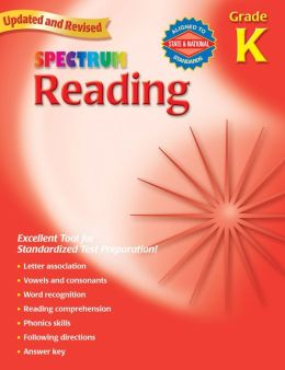 Spectrum Reading, Kindergarten