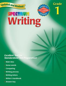 Spectrum Writing, Grade 1