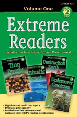 Extreme Readers Grades K-1: Tiny Terrors/Destruction Earth/Fantastic Planet/Undercover Creatures