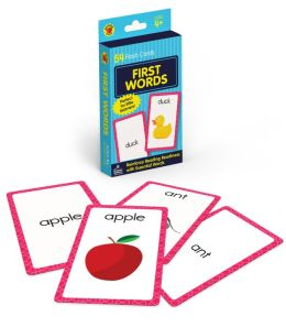 First Words (Brighter Child Flash Cards Series)