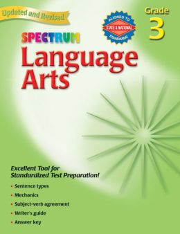 Spectrum Language Arts, Grade 3