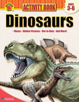 Brighter Child Dinosaurs Activity Book