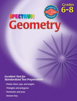 Spectrum Geometry, Grades 6-8