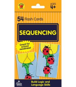 Sequencing (Brighter Child Flash Cards Series)