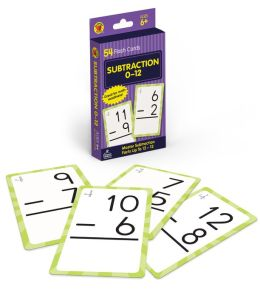 Subtraction 0 To 12 (Brighter Child Flash Cards Series)