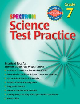 Spectrum Science Test Practice, Grade 7