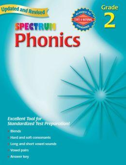 Spectrum Phonics: Grade 2