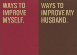 Jotty Journals: Resolutions: Ways to Improve Myself and Ways to Improve My Husband