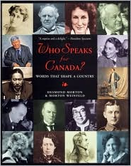 Who Speaks for Canada?: Words That Shape a Country