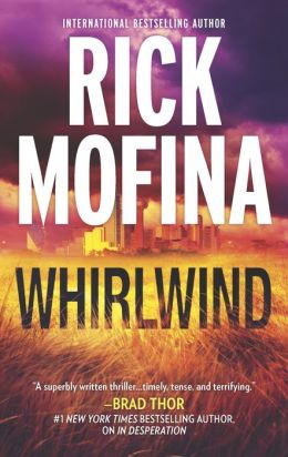 The cover of Rick Mofina's Whirlwind