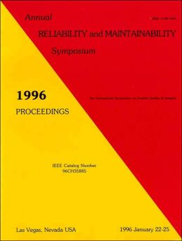 1996 Annual Reliability and Maintainability Symposium