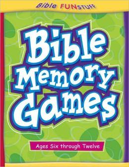 Bible Memory Games